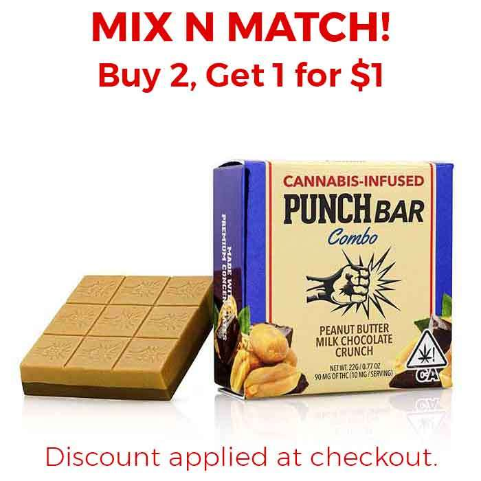Punch Edibles & Extracts | Peanut Butter Milk Chocolate Crunch