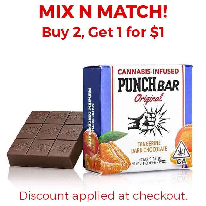 Punch Edibles & Extracts | Tangerine Dark Chocolate