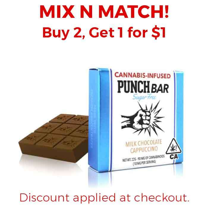 Punch Edibles & Extracts | Sugar Free | Milk Chocolate Cappuccino