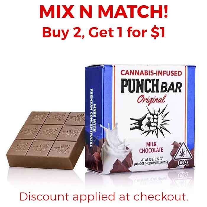 Punch Edibles & Extracts | Milk Chocolate