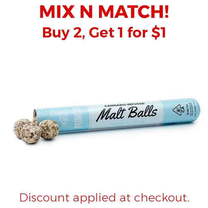 Punch Edibles & Extracts | Malt Balls | Cookies N' Cream