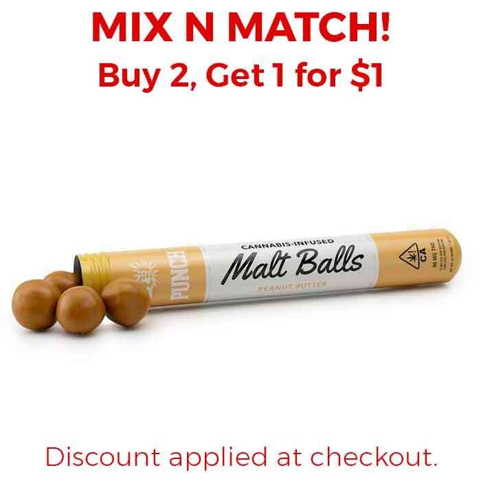 Punch Edibles & Extracts | Malt Balls | Peanut Butter
