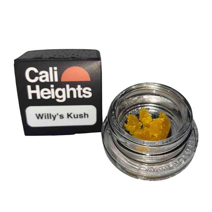 Willy's Kush l 1g Live Resin Sugar from Cali Heights