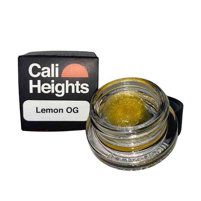 Lemon OG l 1g Live Resin Sauce from Cali Heights