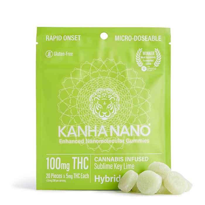 Sublime Key Lime Micro-Nano Gummies from Kanha