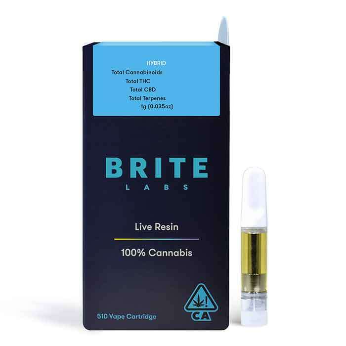 Marshmallow OG | Live Resin Cart from Brite Labs