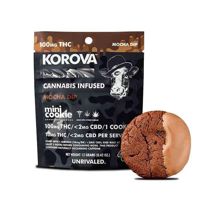Mocha Mini Dip Single Cookie  from Korova