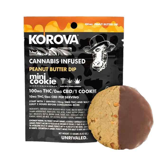 Peanut Butter Mini Dip Single Cookie from Korova