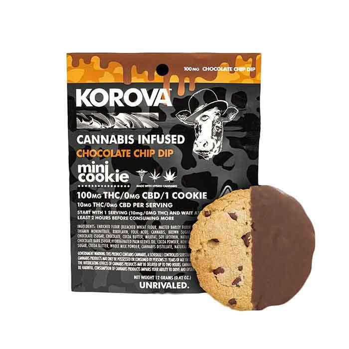 Chocolate Chip Mini Dip Single Cookie from Korova