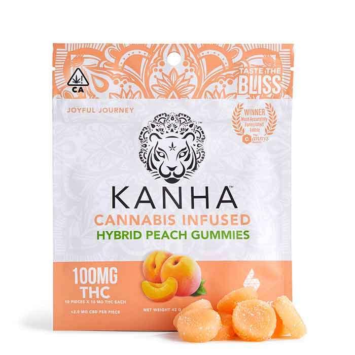 Peach Gummies from Kanha