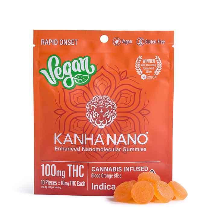 Blood Orange Bliss Vegan Nano Gummies from Kanha