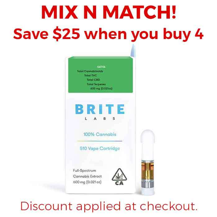 Clementine | Full Spectrum Carts from Brite Labs