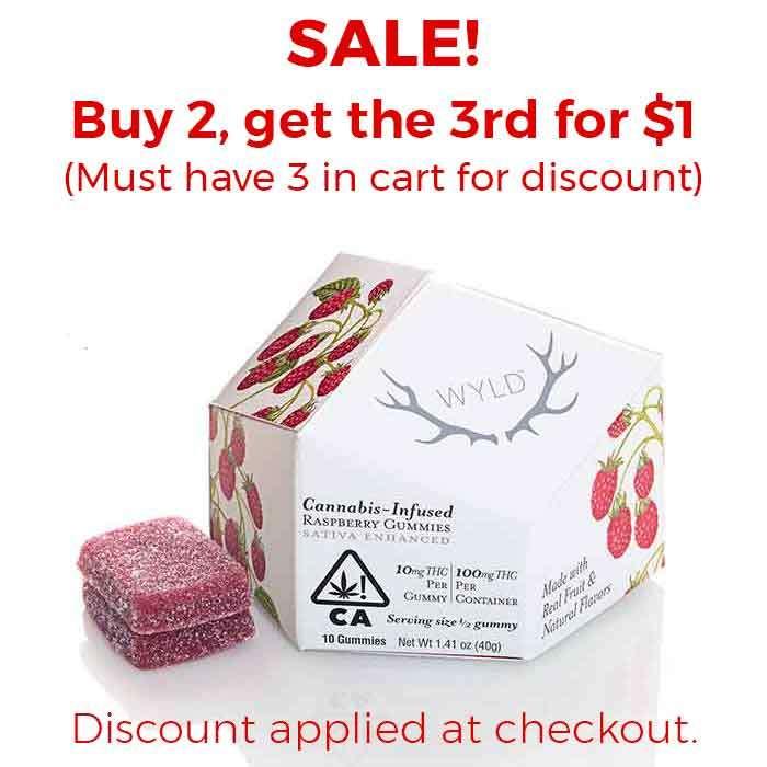 Raspberry Gummies from Wyld