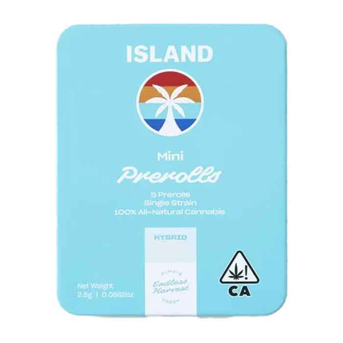 Fruit Cart |  Mini Preroll 5 Pack from Island