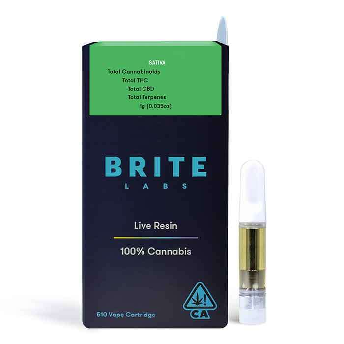 Durban Poison | Live Resin Cart from Brite Labs