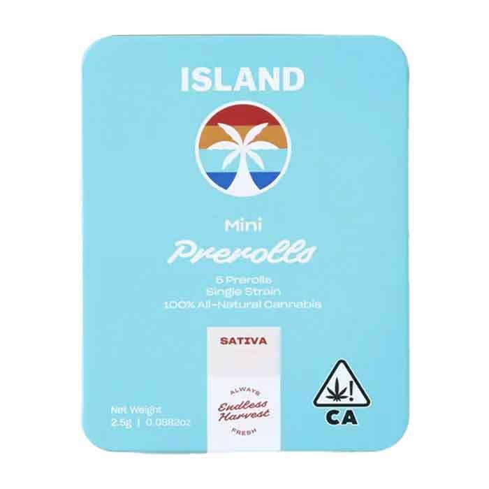Evergreen Haze     Mini Preroll 5 Pack from Island